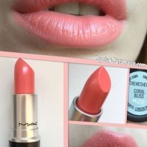 MAC Cosmetics cremesheen lipstick in Coral Bliss